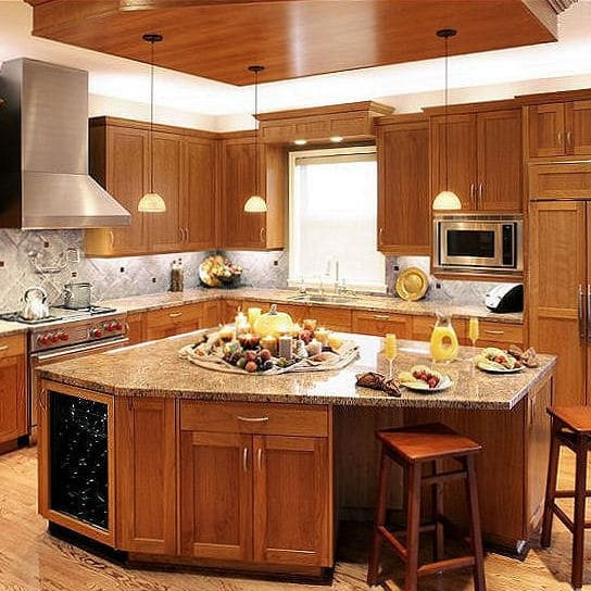 CONTEMPORARY CRAFTSMAN KITCHEN
