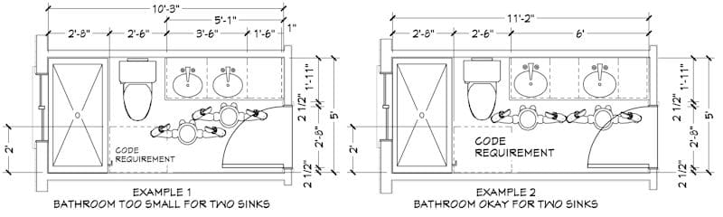 Two Master Bathroom Sinks Are Desirable 1