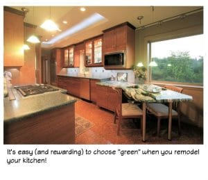 sustainable green kitchen remodeling is good for the environment and you!