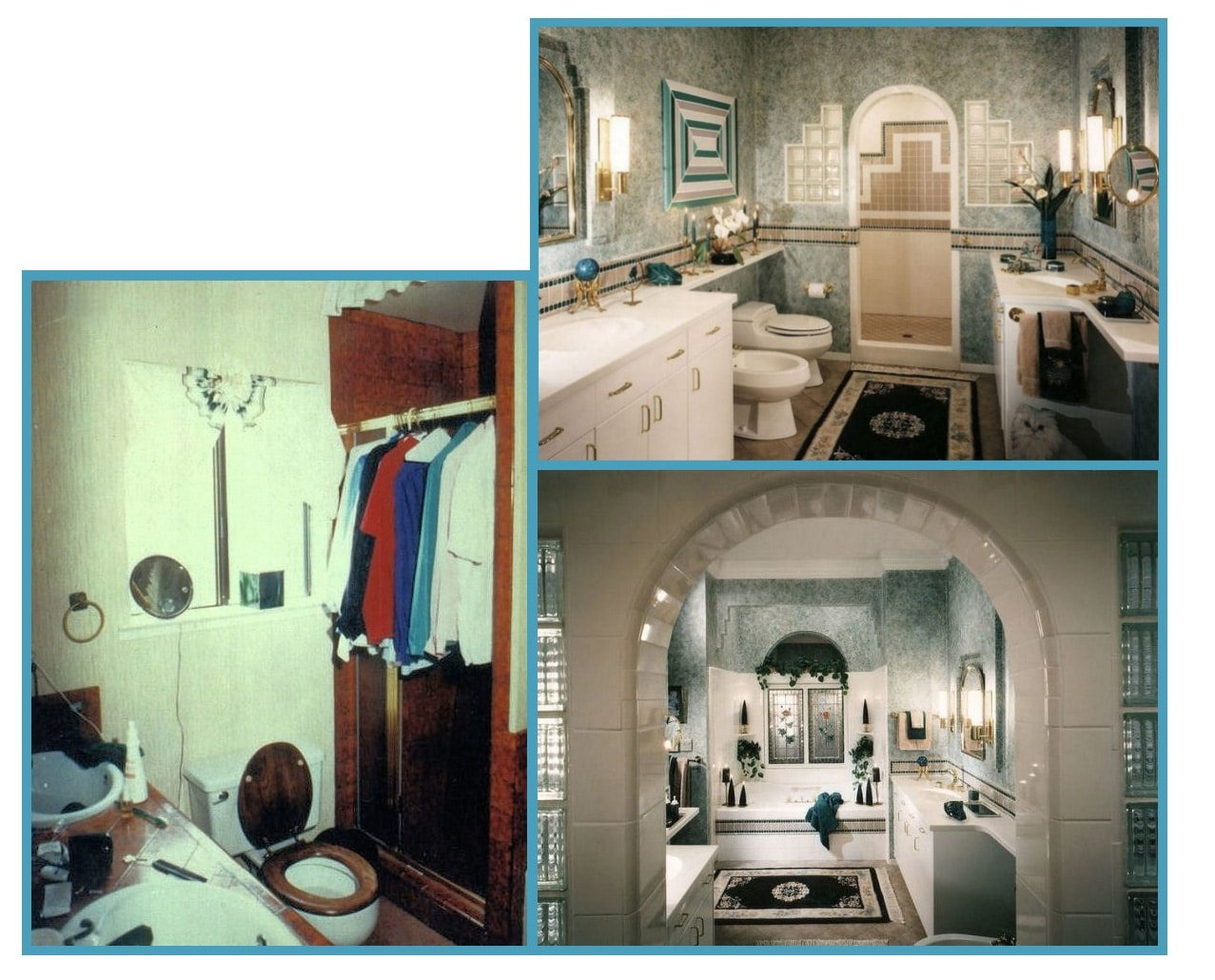 1970s Master Bath Updated 4 Function + Appearance 1