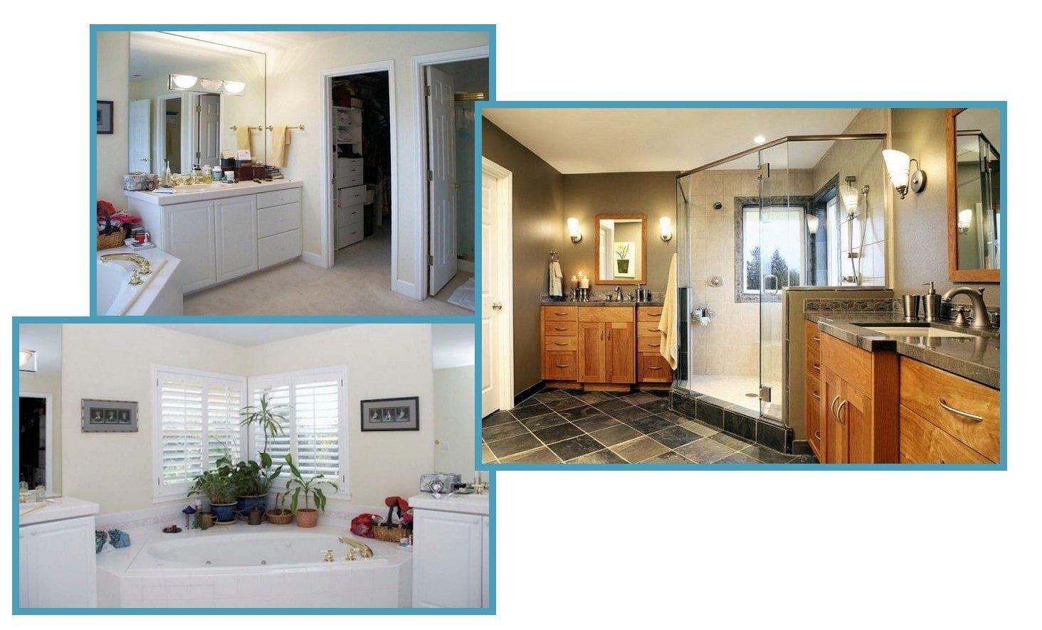 Contemporary Craftsman Bathroom + Closet Addition 1
