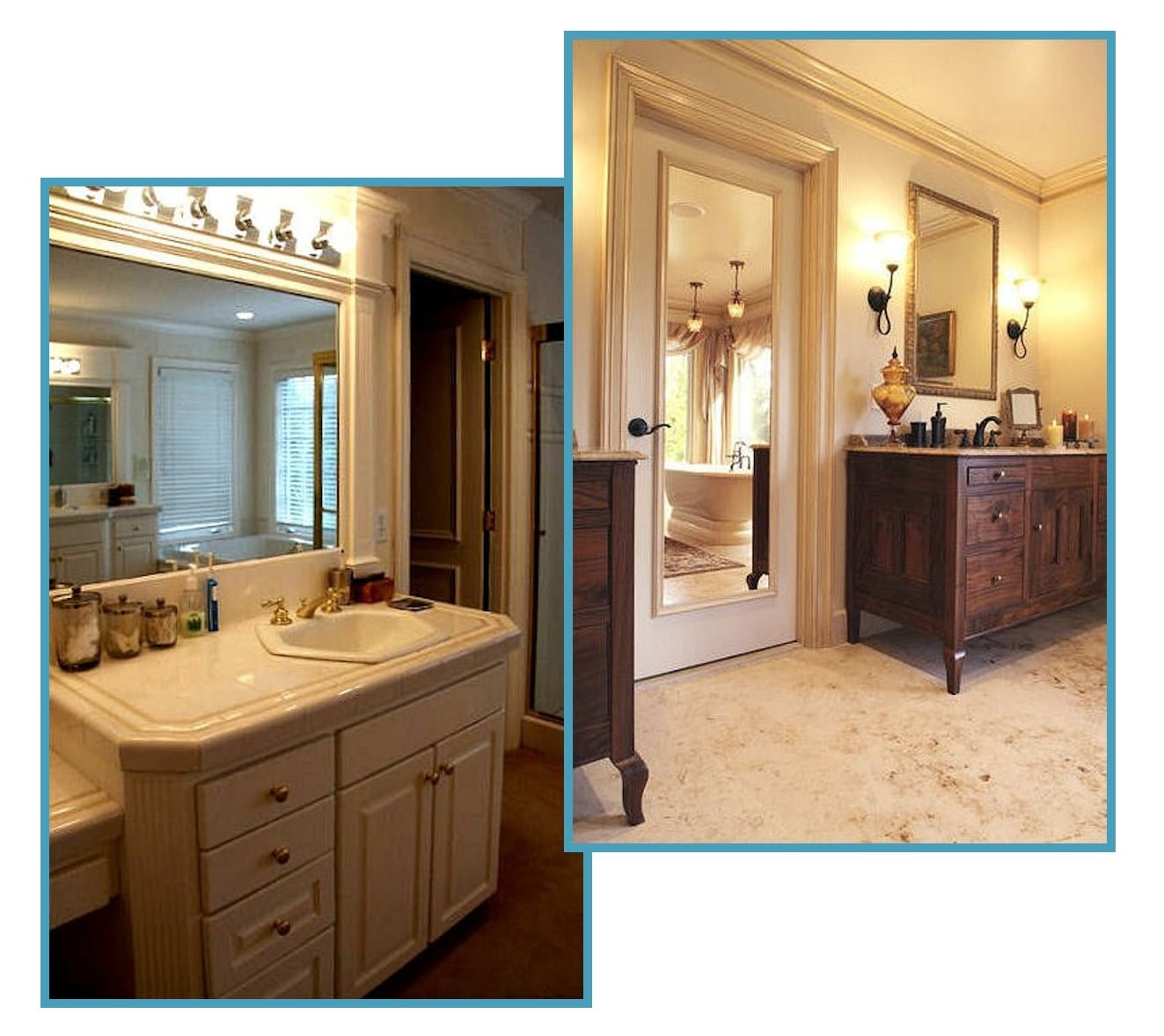 French Country Master Bathroom Retreat 1