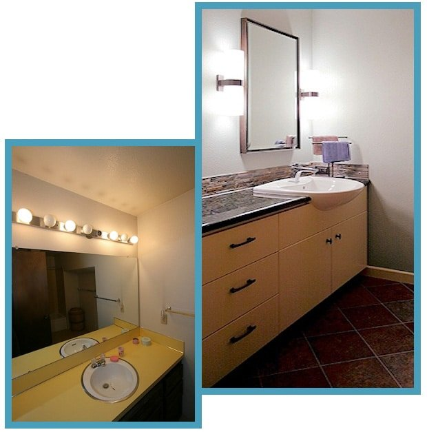 1970's Remodeled Guest Bathroom 1