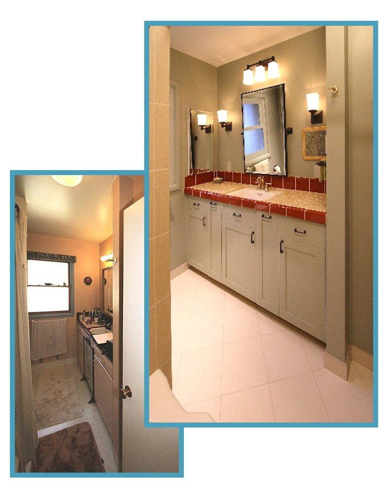 1950's Retro Revival Bathroom 1