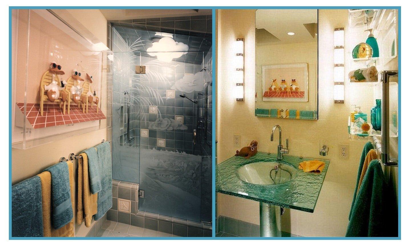 Sophisticated Whimsical Bathroom 1