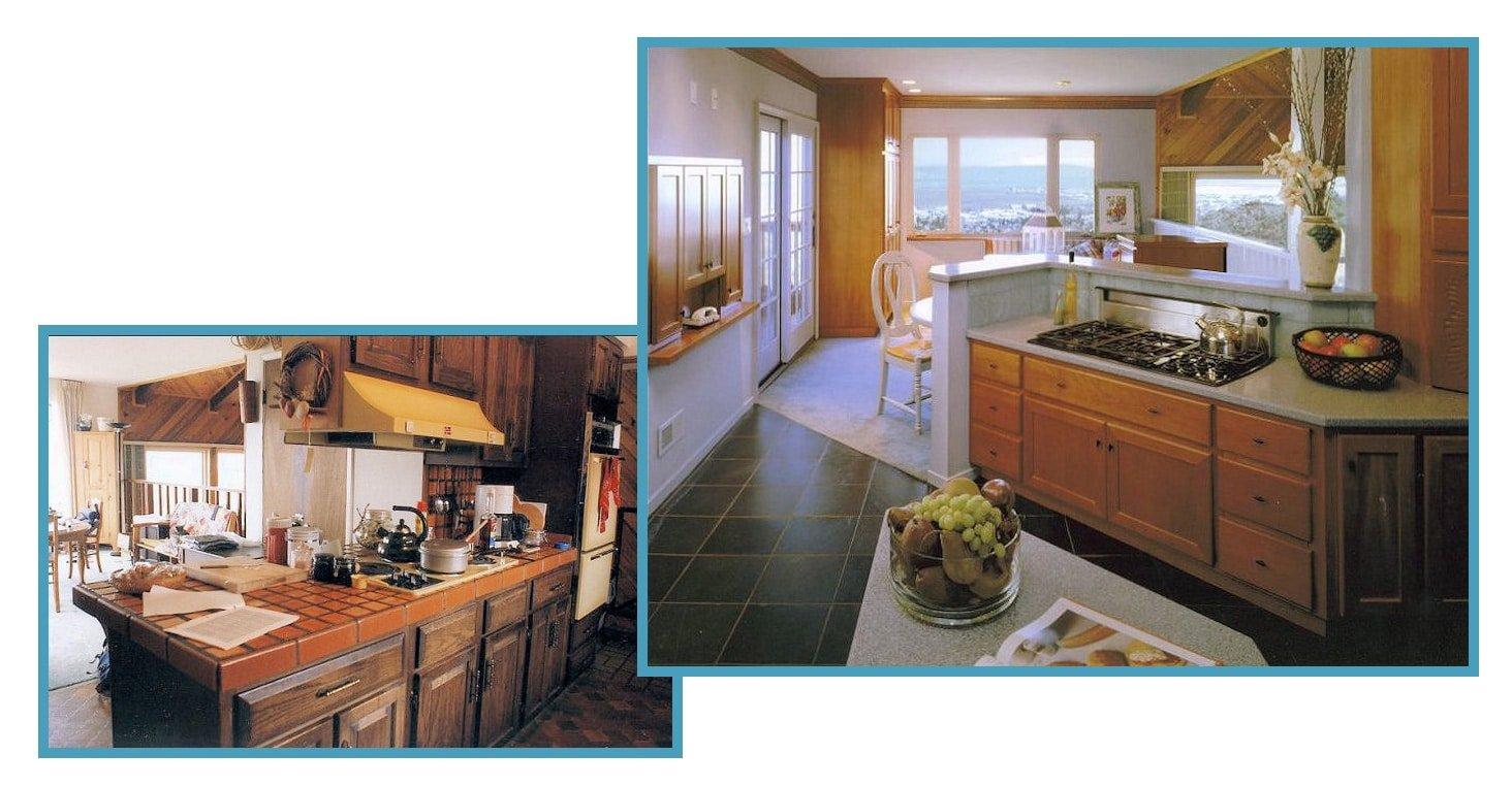 1970's Scandinavian View Kitchen 1