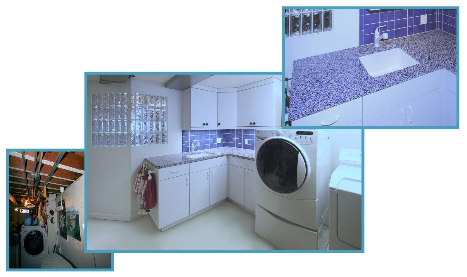 1950's Basement: New Laundry Area 1