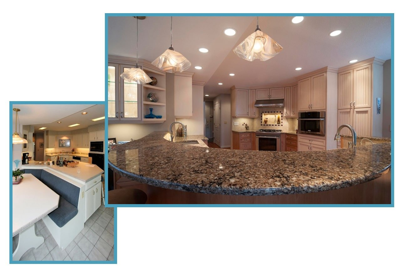 Custom Traditional Sparkling Kitchen 1