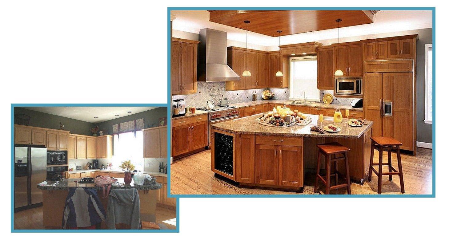 Craftsman Contemporary Kitchen 1
