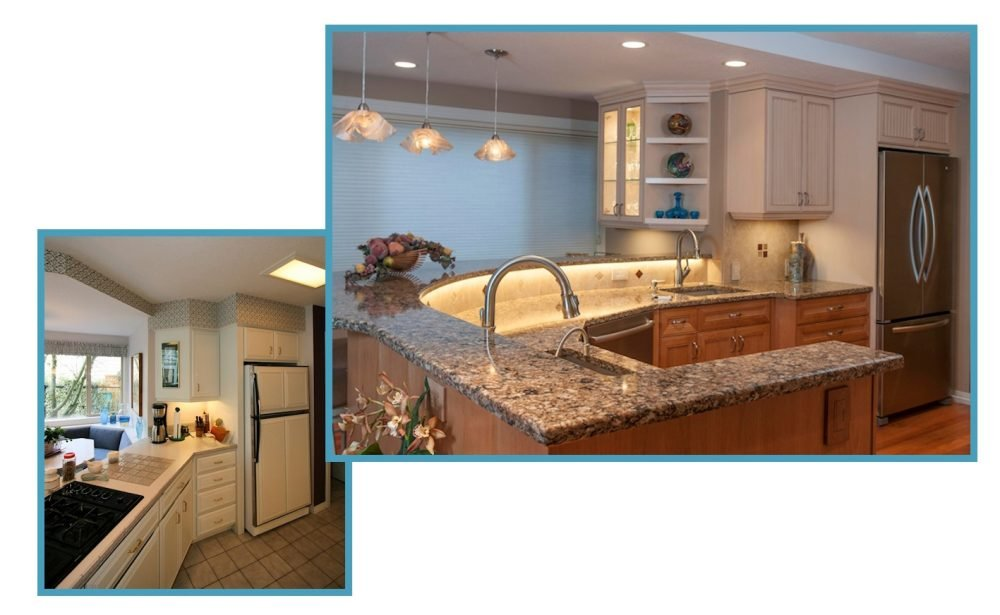 Custom Traditional Sparkling Kitchen 5